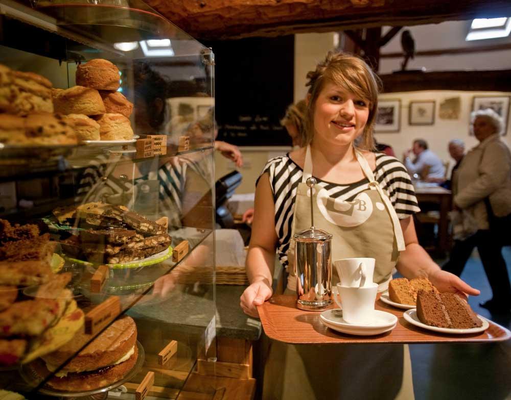 low sizergh barn café menu