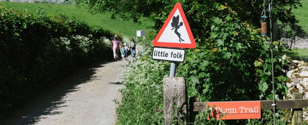 fairy and flower trail near Kendal