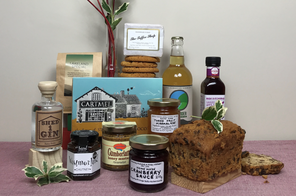 corporate hampers: cumbrian Christmas gift