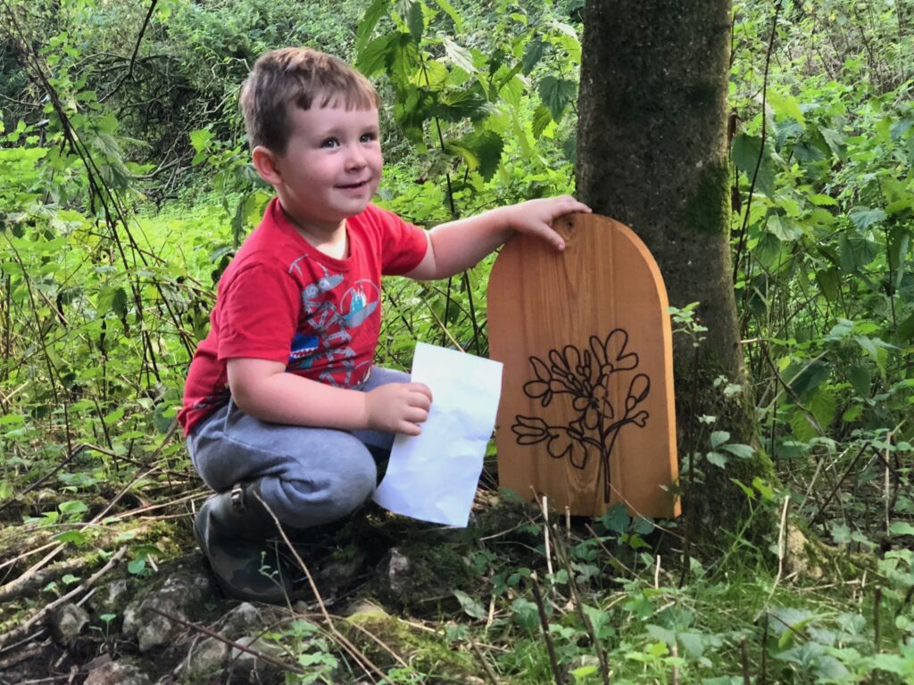 fairy trail near kendal