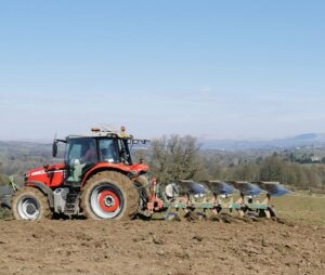 Ploughing at Low Sizergh Farm: connecting to age-old rituals