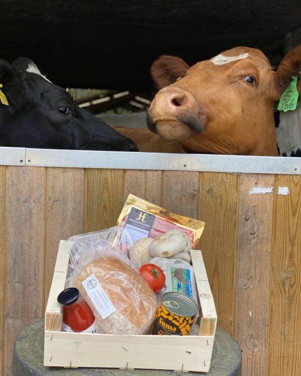 Farmer's Breakfast Box Low Sizergh Barn