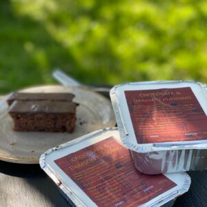 Pudding ready meals from Low Sizergh Barn