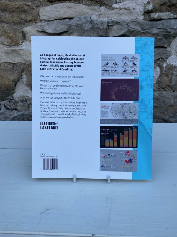 The Lake District in 101 Maps and Infographics Back Cover
