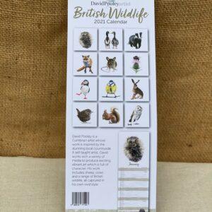 British Wildlife 2021 Calendar