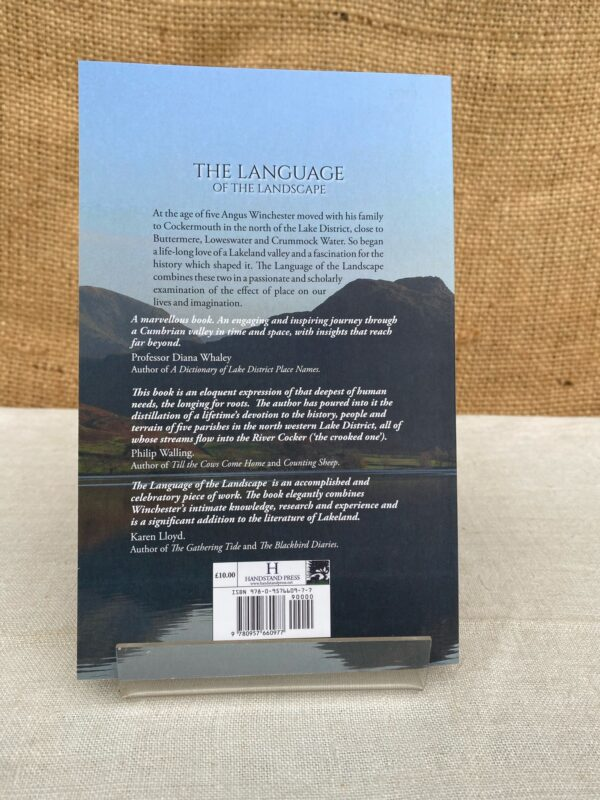The Language of the Landscape Back Cover Image