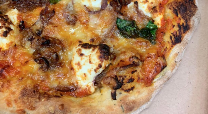 Takeaway pizza from Low Sizergh Barn