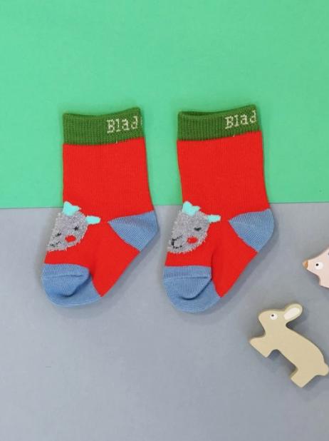 Bright Sheep Socks