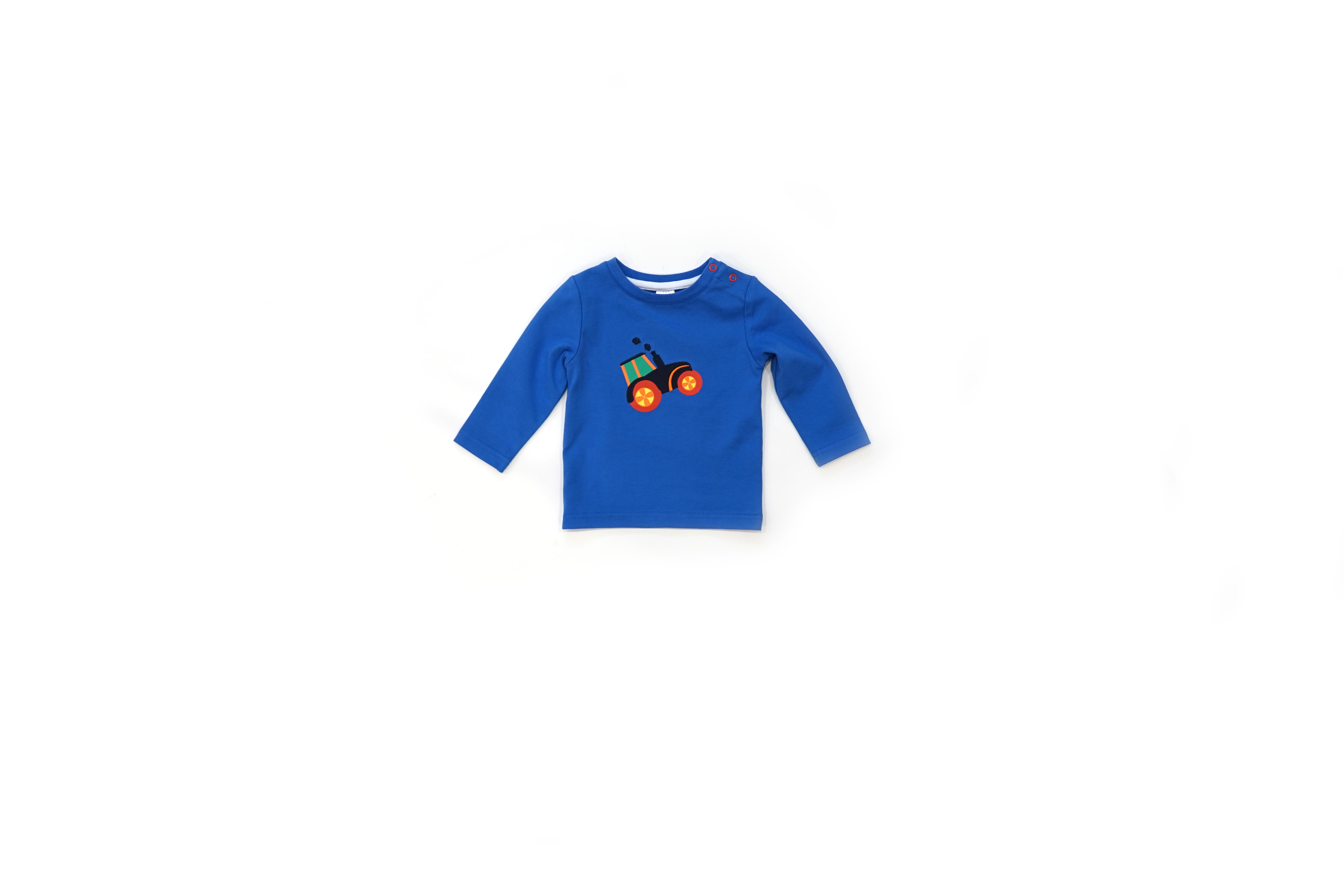 Farmyard tractor top for toddlers