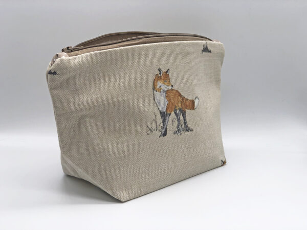 make up bag in vixen fabric